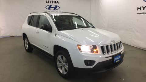 Pre-Owned 2017 JEEP COMPASS 4X4 Four Wheel Drive Sport Utility
