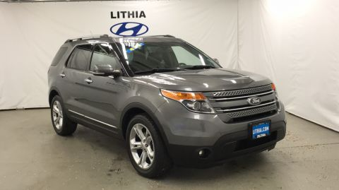 Pre-Owned 2013 FORD EXPLORER 4WD 4DR LIMITED Four Wheel Drive Sport Utility