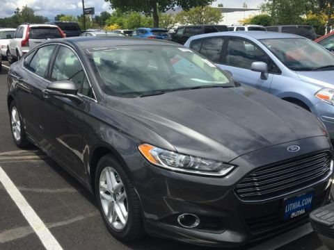 Pre-Owned 2015 FORD FUSION 4DR SDN SE FWD Front Wheel Drive 4dr Car