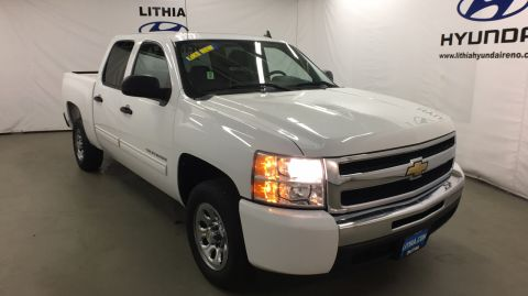 Pre-Owned 2011 CHEVROLET SILVERADO 1500 2WD CREW CAB 143.5 LS Rear Wheel Drive Short Bed