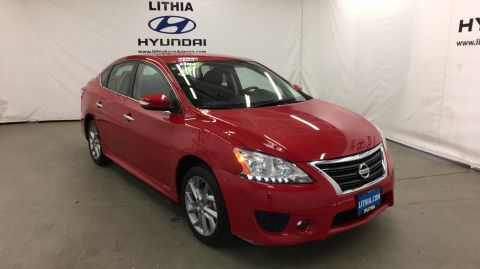 Pre-Owned 2015 NISSAN SENTRA 4DR SDN I4 Front Wheel Drive 4dr Car