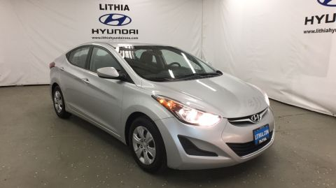 Pre-Owned 2016 HYUNDAI ELANTRA 4DR SDN (ALABAMA PLANT) Front Wheel Drive 4dr Car