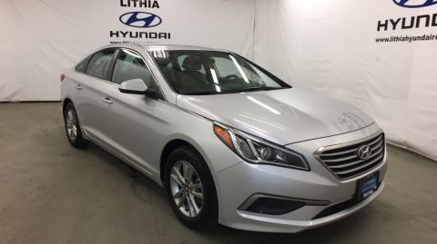 Pre-Owned 2017 HYUNDAI SONATA 2.4L Front Wheel Drive 4dr Car
