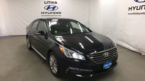Certified Pre-Owned 2015 HYUNDAI SONATA 4DR SDN 2.4L Front Wheel Drive 4dr Car