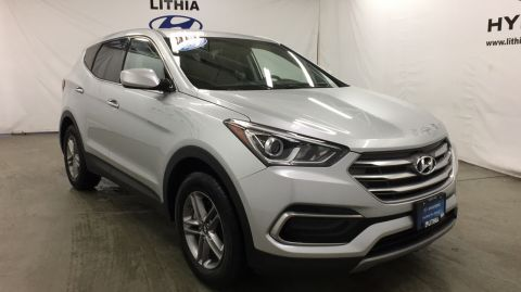 Certified Pre-Owned 2017 HYUNDAI SANTA FE SPORT 2.4L AUTOMATIC AWD AWD
