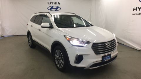 Certified Pre-Owned 2017 HYUNDAI SANTA FE SE 3.3L AUTOMATIC AWD AWD