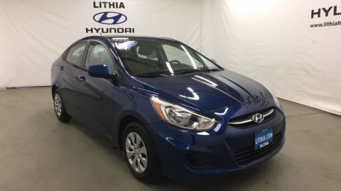 Certified Pre-Owned 2017 HYUNDAI ACCENT SEDAN Front Wheel Drive 4dr Car