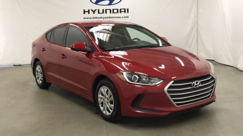 Pre-Owned 2017 HYUNDAI ELANTRA 2.0L Front Wheel Drive 4dr Car