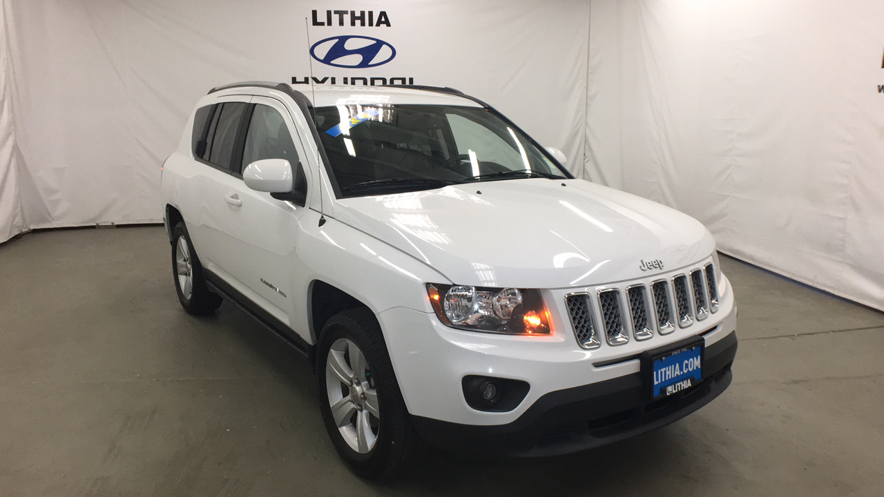 Pre-Owned 2016 JEEP COMPASS 4WD 4DR
