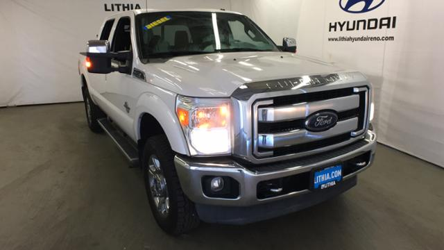 Pre-Owned 2013 Ford Super Duty F-350 SRW 4WD Crew Cab 156 Lariat