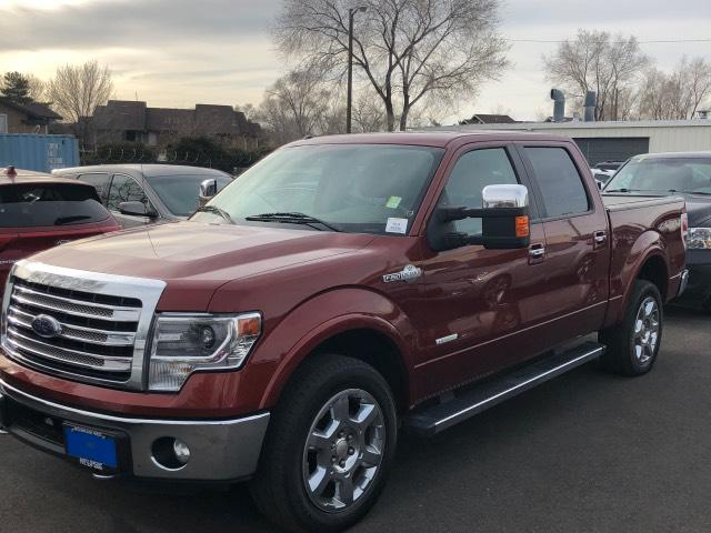 Pre-Owned 2014 Ford F-150 4WD SuperCrew 145 King Ranch