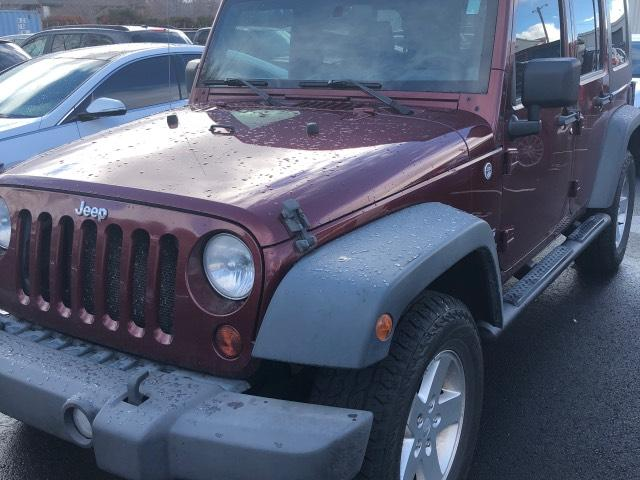 Pre-Owned 2010 Jeep Wrangler Unlimited 4WD 4dr Sport