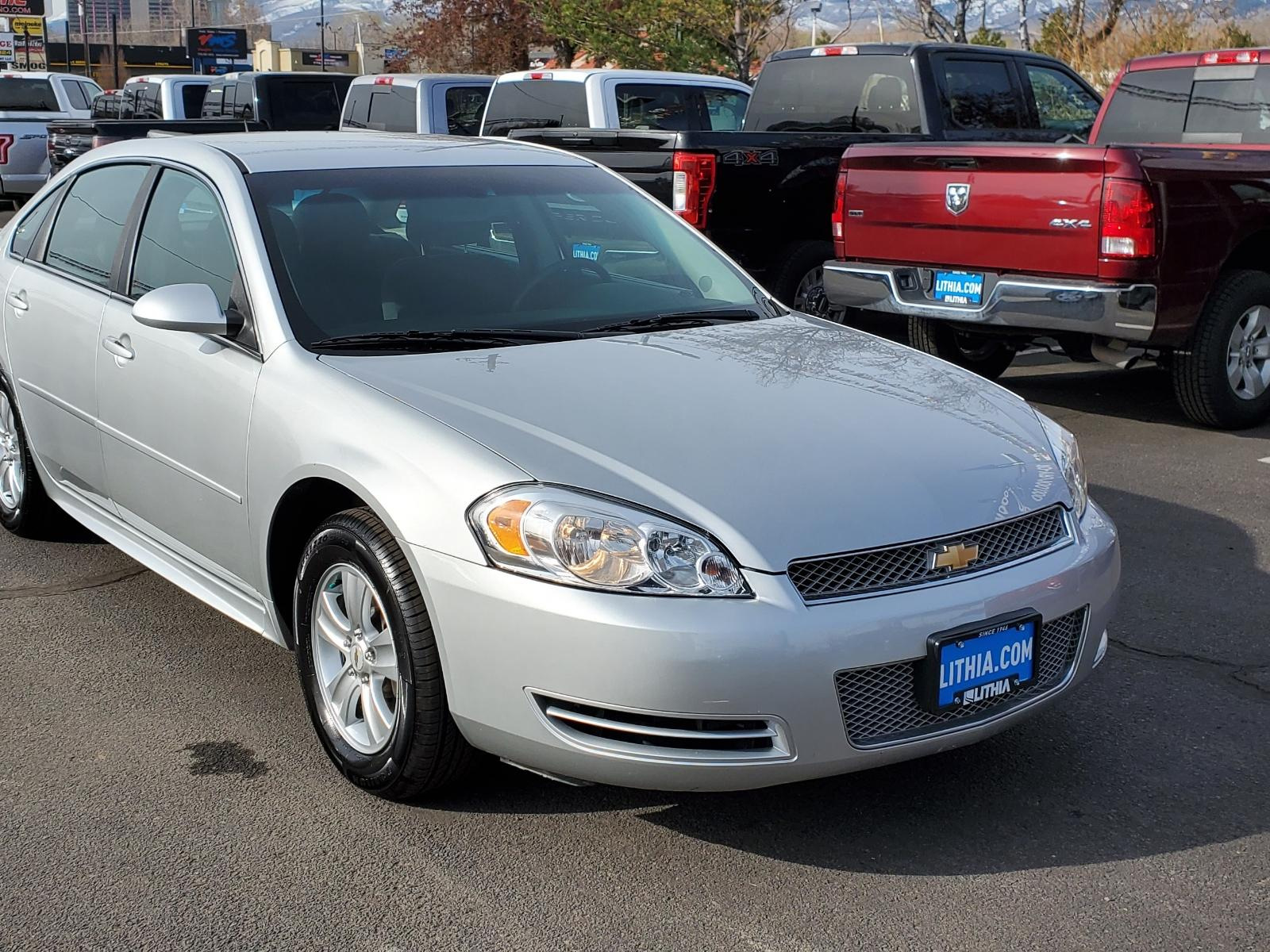 Pre-Owned 2015 Chevrolet Impala Limited 4dr Sdn LS