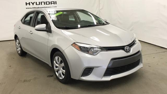 Pre-Owned 2015 Toyota Corolla 4dr Sdn CVT LE