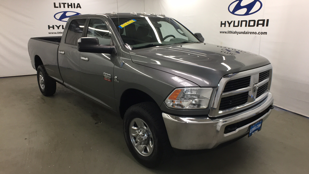 Pre-Owned 2012 DODGE RAM35 4WD CREW CAB 169