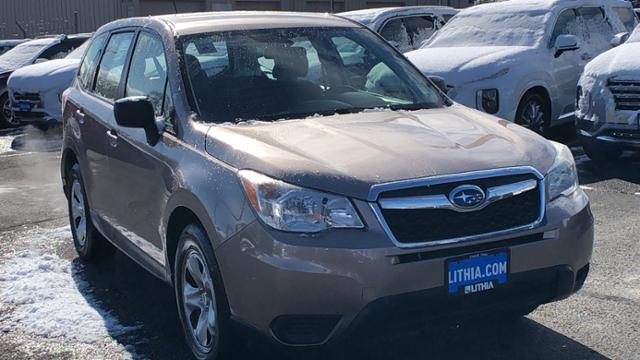 Pre-Owned 2015 Subaru Forester 4dr CVT 2.5i PZEV
