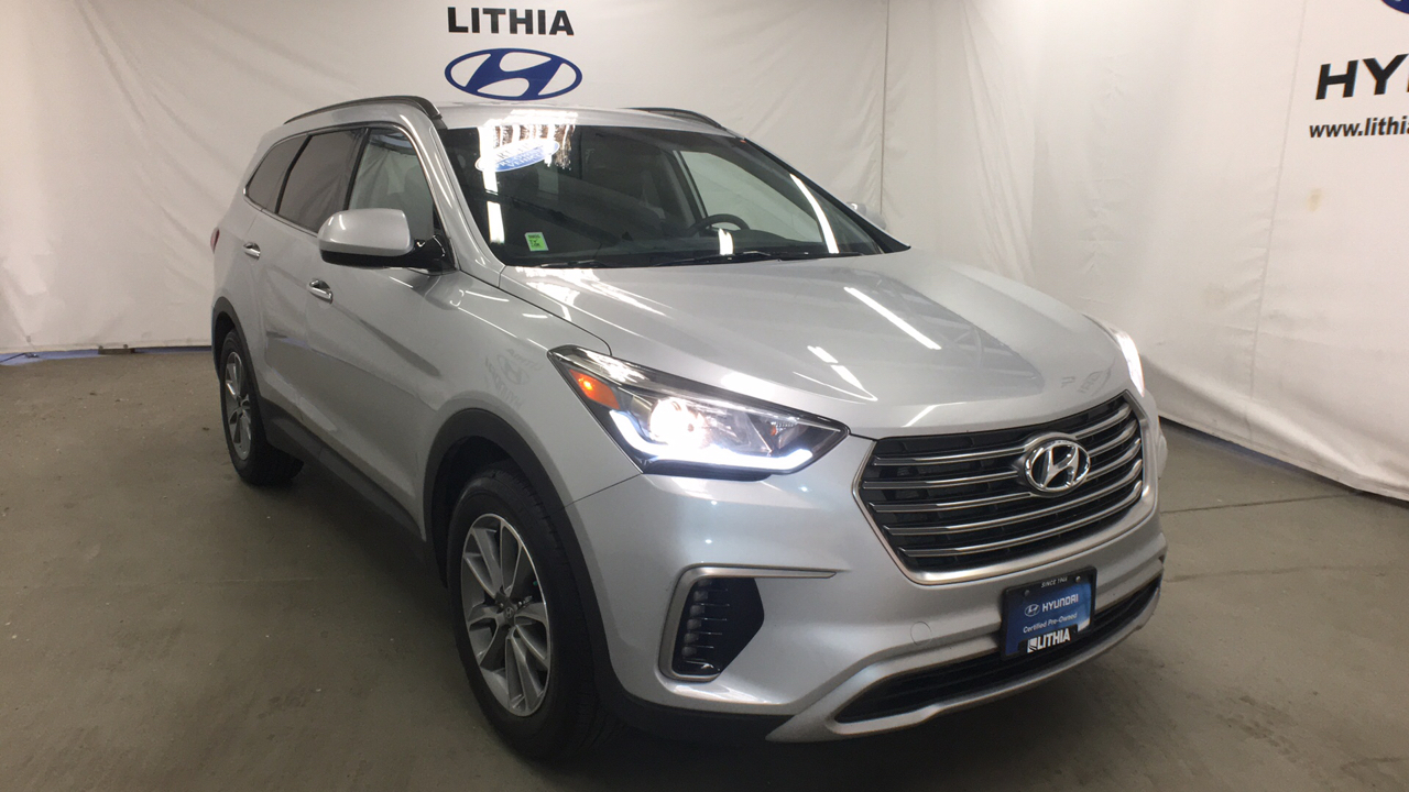 Certified Pre-Owned 2017 HYUNDAI SANTA FE SE 3.3L AUTOMATIC AWD