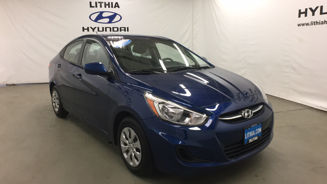 Certified Pre-Owned 2017 HYUNDAI ACCENT SEDAN