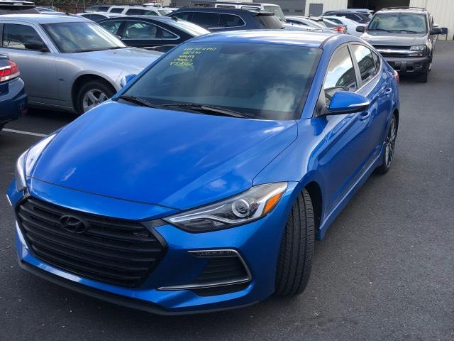 Pre-Owned 2017 Hyundai Elantra Sport 1.6T Manual