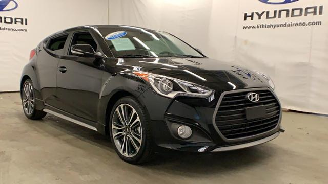 Certified Pre-Owned 2016 Hyundai Veloster 3dr Cpe Man Turbo