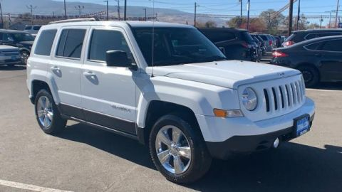 Pre-Owned 2017 Jeep Patriot Latitude 4x4