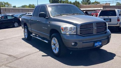 Pre-Owned 2007 Dodge Ram 1500 4WD Quad Cab 140.5 SLT 4WD Crew Cab Pickup