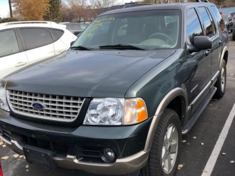 Pre-Owned 2004 Ford Explorer 4dr 114 WB 4.6L Eddie Bauer 4WD