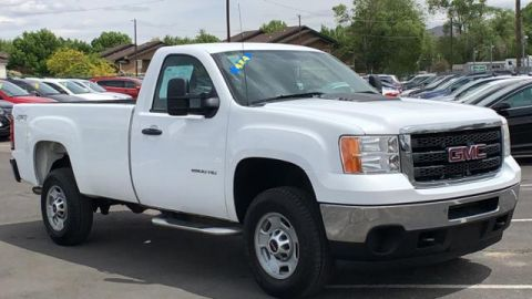 Pre-Owned 2014 GMC Sierra 2500HD 4WD Reg Cab 133.7 Work Truck 4WD Regular Cab Pickup