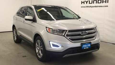Pre-Owned 2017 Ford Edge Titanium AWD AWD