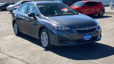 Pre-Owned 2018 Subaru Impreza 2.0i Premium 4-door CVT AWD 4dr Car