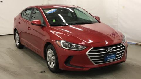 Certified Pre-Owned 2017 Hyundai Elantra 4dr Sdn Auto SE