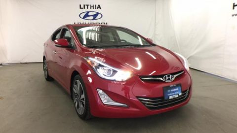 Certified Pre-Owned 2015 Hyundai Elantra 4dr Sdn Auto Limited