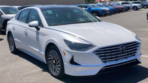 New 2020 Hyundai Sonata Hybrid Limited 2.0L FWD 4dr Car